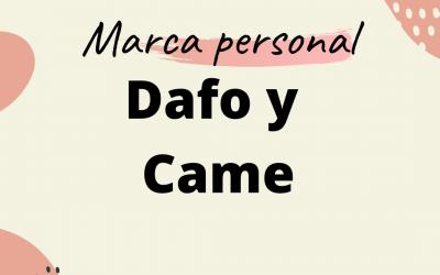 Realiza un  DAFO para tu marca personal