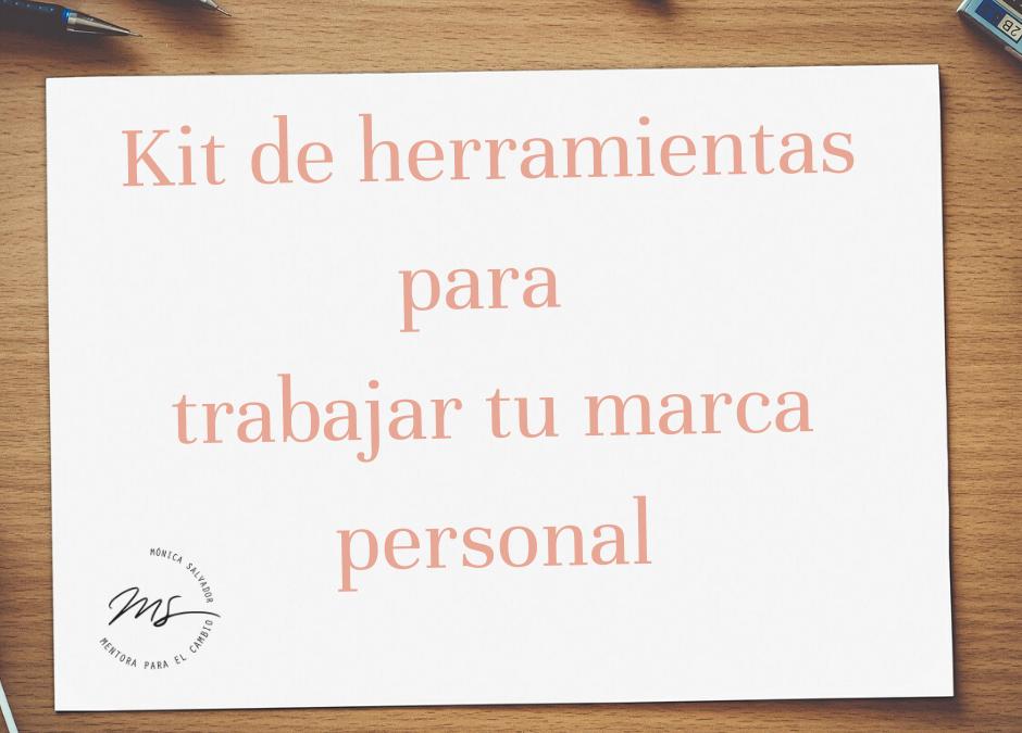 Kit de herramientas imprescindibles para tu marca personal